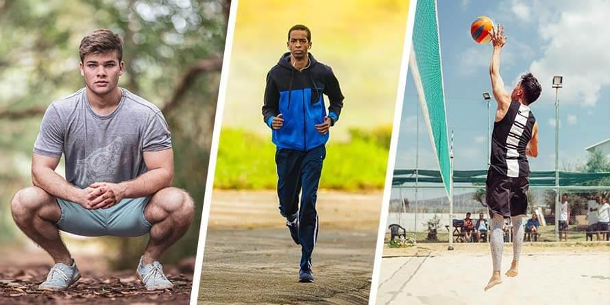 Kniebeuge, Laufen und Springen führen zu einer Verschlimmerung der Symptome.
