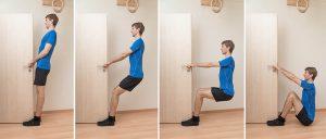 Amosov squat with door