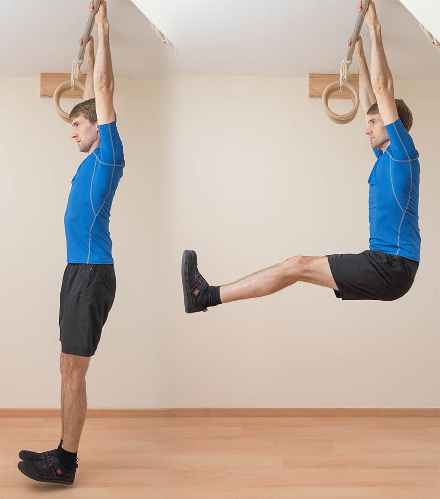 The hanging leg raise